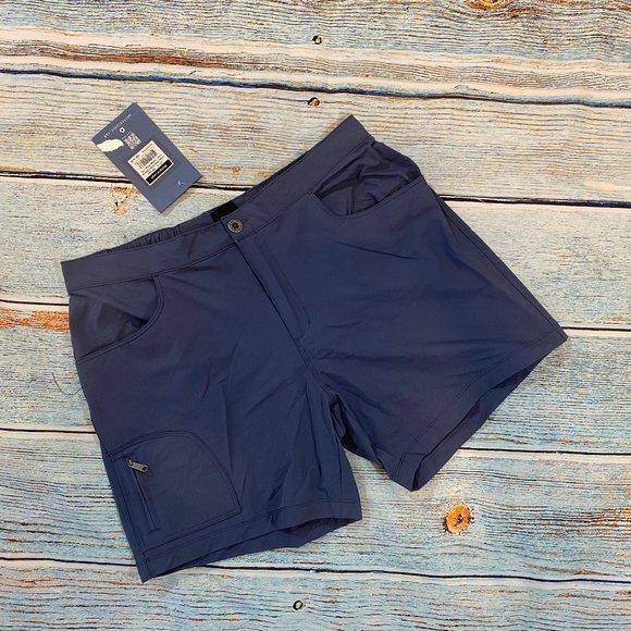 White Sierra Crissy Field Stretch Shorts